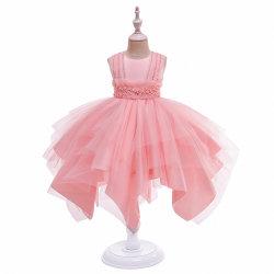 Vestito gonfio dalla principessa Frock Lace Sweet Long dell'abito di sfera dell'indumento del partito delle ragazze di usura del bambino