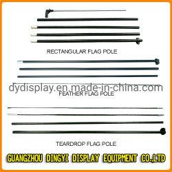 O alumínio/fibra de publicidade exterior em forma de gota /Feather /Rectângulo /Beach Pavilhão Pavilhão Pole