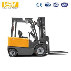 Vsm 2.5tの4-Wheel電気フォークリフト、2500kgs電池のフォークリフト、Fb25のCpd25電気フォークリフト