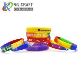Heißer Qualitäts-Firmenzeichen-Sport-passte Gummisilikon-Armband gedruckten intelligenter RFID Uhr USB-Moskito geprägten geprägten SilikonWristband für förderndes Geschenk an