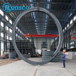 Max 8m forgiatura anello laminato carbonio cilindro girevole a potenza eolica Anelli anello esterno