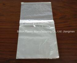 Transparentes frische Nahrungsmittelsattel-Seiten-Dichtungs-PlastikFeinkostgeschäft, das Beutel packt