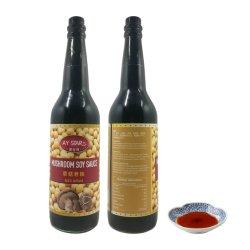 زجاجة زجاجية كوشر موشروم اليابانية صلصة الصويا