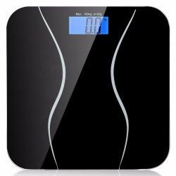 180kg de Vloer van de Schaal van de Badkamers van de Gezondheid van de Vloer van het menselijke Lichaam met LCD Vertoning