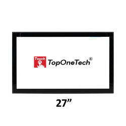 Rack VESA Wandhalterung 27 Zoll Open Frame PCAP Multi Touchscreen Monitor mit modularem High Fast Accurate Response Full HD 16: 9 TFT Display Komponenten VGA HDM DVI