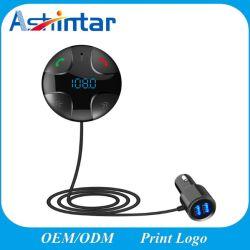 Kit inalámbrico para coche reproductor de audio MP3 manos libres Bluetooth para apoyar la tarjeta del TF Cargador de coche