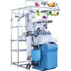 安い価格の自動コンピュータ化された女性の赤ん坊のスポーツは断食された作成を編む 円形ソックスは編みあわせ機の織物機械を作る