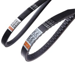 Cogged V-BeltかRaw Edge V Belt、High Flexibility V Belts Rubber Drive Belt