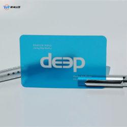 Custom из PETG массой Cr-80 прозрачные пластиковые панели подписи визитной карточки Очистить карту
