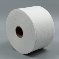 Salon Handtuch Stoff mit weißem PUNKTMUSTER und Spunlace-Design