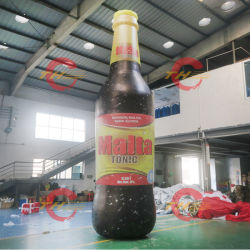 A publicidade da Coca-Cola vaso insufláveis