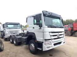 공정하게 사용한 고품질 6*4 10는 맨 위 트럭 트랙터 트럭 50 톤 HOWO 선회한다
