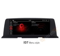 """Hifimax 10.25"""" BMW Série 6 Android système GPS de navigation pour BMW F06 F12 Nbt Jeconduis Carplay"""