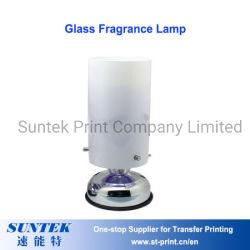 La sublimation de la lampe de parfum en verre blanc