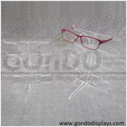 4 أكواب كبيرة من النظارات الثلاثية الأسيلية وحامل الحامل