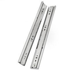 """La extensión completa de montaje lateral bandeja telescópica lineal guías deslizantes de rieles deslizantes en 18"""" 20""""22"""" 24"""""""
