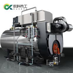 1t 3ton Gás Natural Diesel caldeira de vapor de óleo de arroz do gerador / moinho industrial de alimentos / fábrica de têxteis