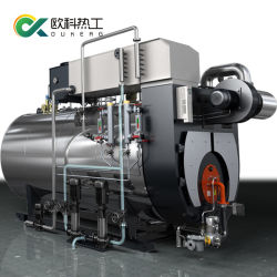 1ton ton Nautral 3Diesel Gas Oil dispararon caldera de vapor generador para molino de arroz / Comida Industrial / planta textil