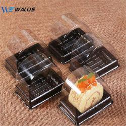 明確なAnti-Fogふたが付いている明確なPPペットPETGプラスチックスライスケーキのパンボックスThermoformのカップケーキボックス