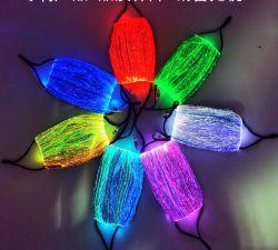 Moda todos los hallows'hay Halloween Fiesta Máscara de Luz fría