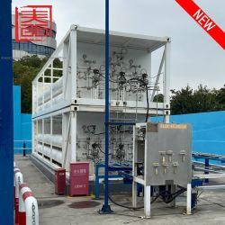 محطة هيدروجين المحمولة أفضل منتج مخصص لإعادة تعبئة خزان/محطة هيدروجين باستخدام المضخة والموزع القوي 7600كجم مع خدمة جيدة
