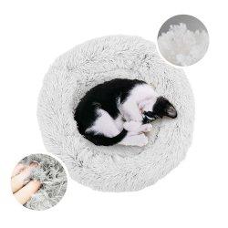 Donut Cão Gato cama, Self-Warming Antiderrapagem Cama Pet