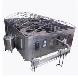 Bouteille de verre en plastique PET automatique Pure minera le traitement des eaux boisson de jus de purificateur de filtre à liquide de remplissage de l'embouteillage d'étanchéité de l'étiquetage machine de conditionnement d'emballage