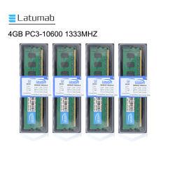 Latumab Laptop-Notizbuch RAM sek-Chip RAM Computerspeicher 4GB DDR3 1333MHz PC3-10600 RAM Speicher DDR3 für Laptop So-DIMM