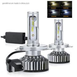 Voiture de F2 LED Lampe phare H1 H4 H7 H11 F6 la tête de lampe LED COB Zes CSP CREE Chip LAMPES 12V Auto