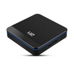 Nova chegada U2 1080p Full HD Amlogic S905X3 Android Market Caixa TV 2.4G WiFi Media Player com USB 3.0