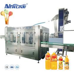 Tipo rotativo de alta qualidade Energy Drink Square / plástica redonda máquina de enchimento de garrafas de vidro