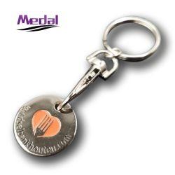 Металлические моды на английском языке кнопки H цепи и контролируйте ключа первоначальный Keyring Ювелирные изделия