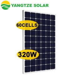 양쯔식 무료 전기 사용 태양열 에너지 60셀 Mono 280W 290W 300W 310W 320W(판매용