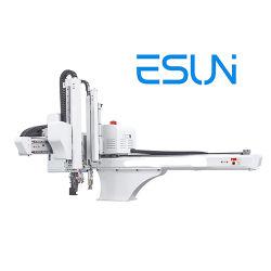 850톤에 대한 CNC 로봇 암 자동 픽업 및 배치 미니 사출 성형기