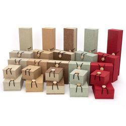 Confezione di lino giocattolo per bambini Adulti giocattolo didattico Scatola di conservazione di monili per i bambini ragazze adulti dei ragazzi