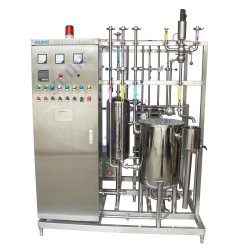 Placa de bebidas de leite suco Pasteurizer Esterilizador para venda