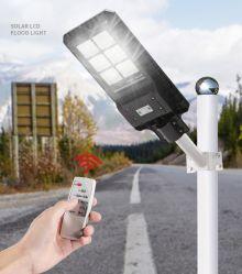 30W 40W 50W 60W 70W de la rue solaire lumière LED lampes intégrées de plein air tout en un système d'éclairage jardin Design étanche IP65 IK08.