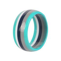 De brede Bevindingen van de Armband van de Armband van de Juwelen van de Dames van de Hars van de Rand van de Regenboog Acryl