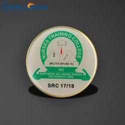 Yerllsom طباعة بطاقات معدنية شخصية مخصصة مع شعار الرسام Y21040111