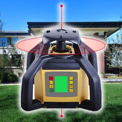 Grau de duplo nível Laser rotativo Sre203X-2s Instrumento de Levantamento do Laser