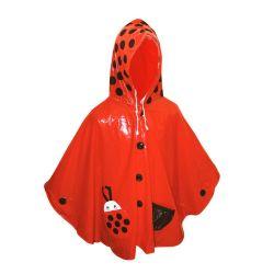 Vinyle imperméable PE Poncho de pluie jetables pour les enfants Les enfants de l'école