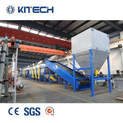 PE LDPE película de plástico PP HDPE Jumbo saco tecido Linha de Lavagem de fragmentação de reciclagem