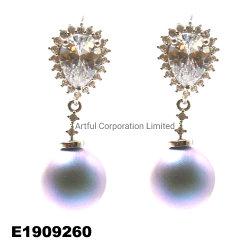 도매 925 스털링 실버 쥬얼리 패션 디자인 펄 에링 하이 Quantity Fashion Jewelry