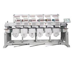 Wonyo 6 Head Tubular Screen Printing T-Shirt Textiel Borduurmachine
