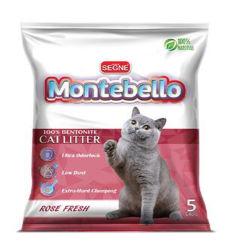 100% ecológica como arcilla de Bentonita Premium Arena Pet grueso