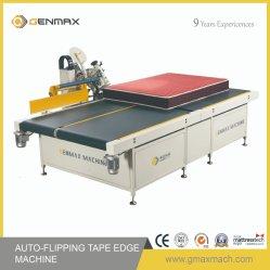 Colchão automática Auto-Flipping máquina de colocação de fitas nas bordas da Máquina