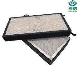 격판덮개 금속 프레임을%s 가진 공기 Purifer를 위한 새로운 디자인 HEPA 필터