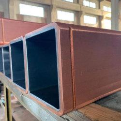 100/130/150 el tamaño del Molde cobre Tubo para proceso de fabricación de acero Crystallizer