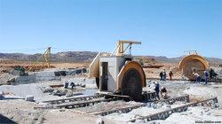 Taglierina di pietra della macchina d'estrazione del blocchetto del granito e del marmo della lamierina del macchinario 2qyk-4000 di Hualong doppia