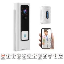 De volledige Draadloze Slimme Camera van de Deurbel HD 1080P voor de Slimme Mobiele Camera van de Klok van de Deur van de Telefoon VideoWiFi de Digitale Kijker van de Deur